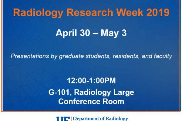 Research Week Announcement