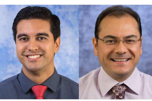 Doctor Joseph Grajo and Ibrahim Tuna