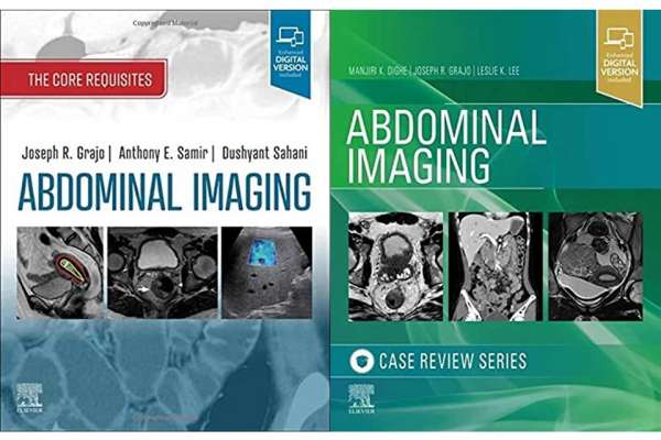 Covers of Abdominal Imaging Textbooks edited by Dr. Joseph Grajo