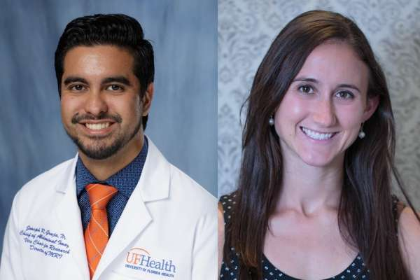 Headshots of Drs. Joseph Grajo and Laura Magnelli