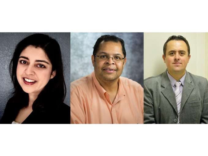 Drs. Nupur Verma, Tan-Lucien Mohammed, and Bruno Hochhegger