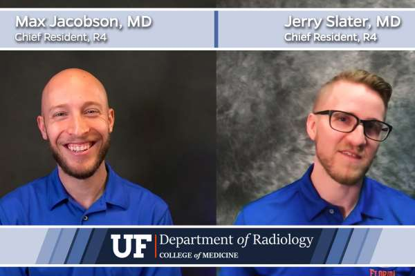 Chief Residents Doctors Max Jacobson and Jerry Slater