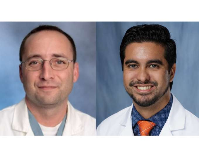 Doctors Brian Geller and Joseph Grajo