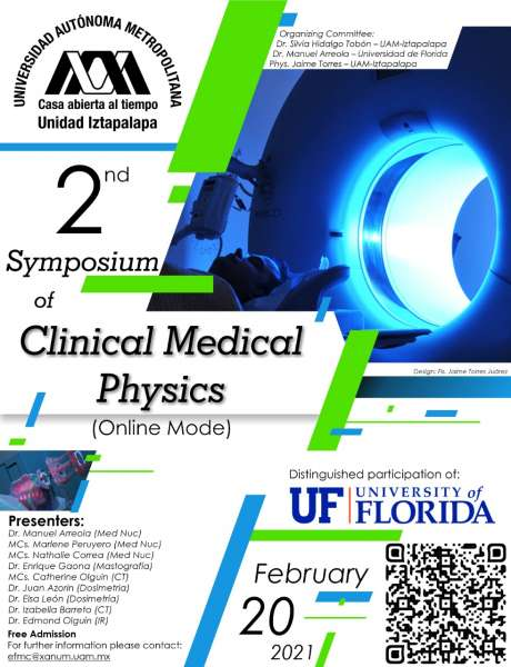 Medical Physics Symposium Flyer - February 20, 2021